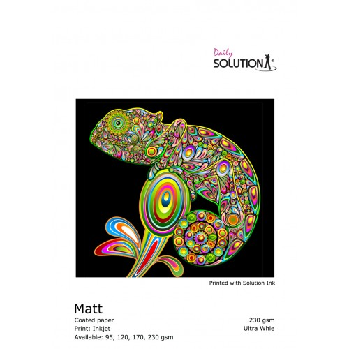 Solution Gift Wrap Matt (120 gsm) 61 CM X 30 M