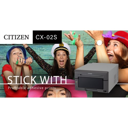 Citizen Printer CX -02S NEW ADHESIVE STICKER PRINTER