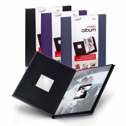 Mitsubishi Album 6x8 Album (fits 12 prints with front window)