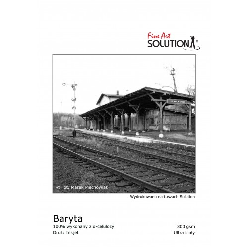 SOLUTION FINE ART Baryta 300 gsm (A4 25 SHEETS)