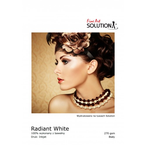 PHOTOGRAPHIC PAPER RADIANT WHITE 270 GSM (A4 25 SHEETS)