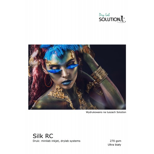 Solution Dry Lab Silk RC Paper (270 gsm) (A4 100 SHEETS)